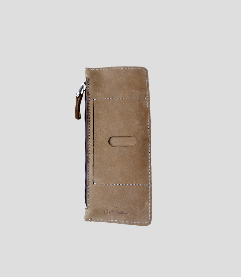 Marcal Taupe Wallet from FerWay Designs
