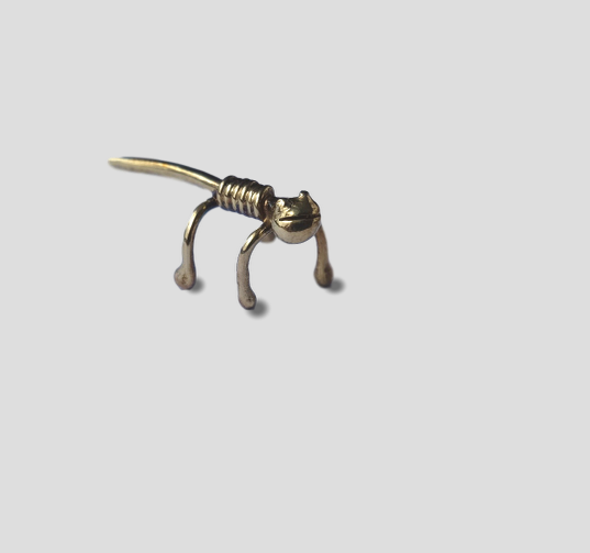 Gold Gecko Ear Cuff from FerWay Designs