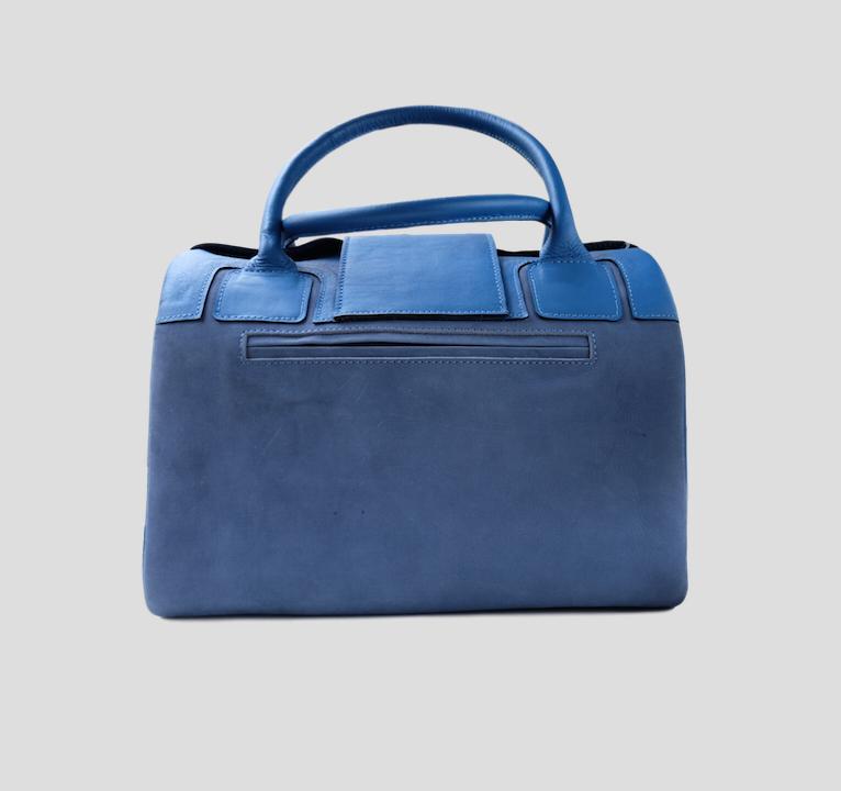 Mateo Blue Handbag from FerWay Designs