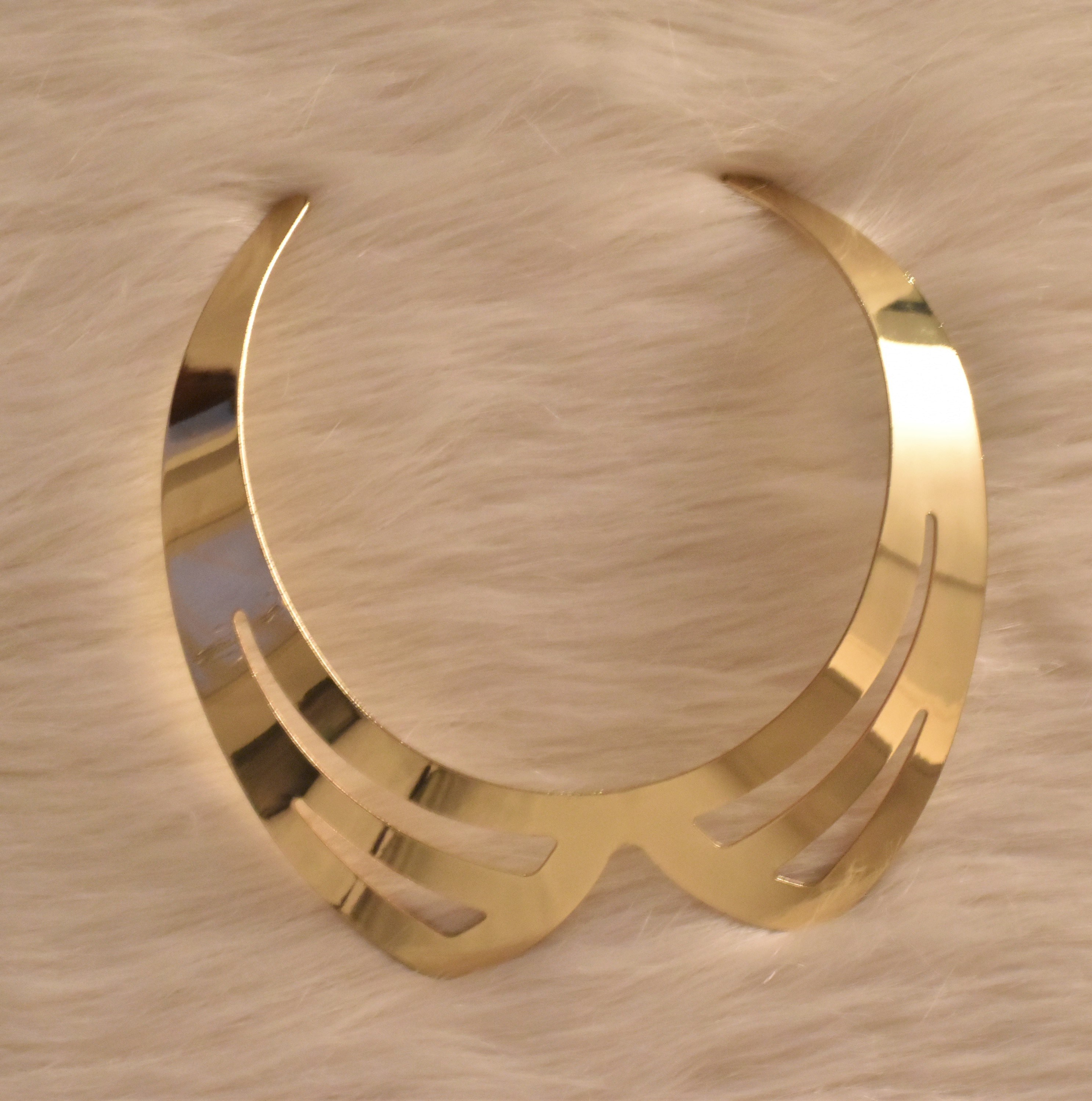 Golden Collar Fashionable Choker Necklace from Grab Your Garb