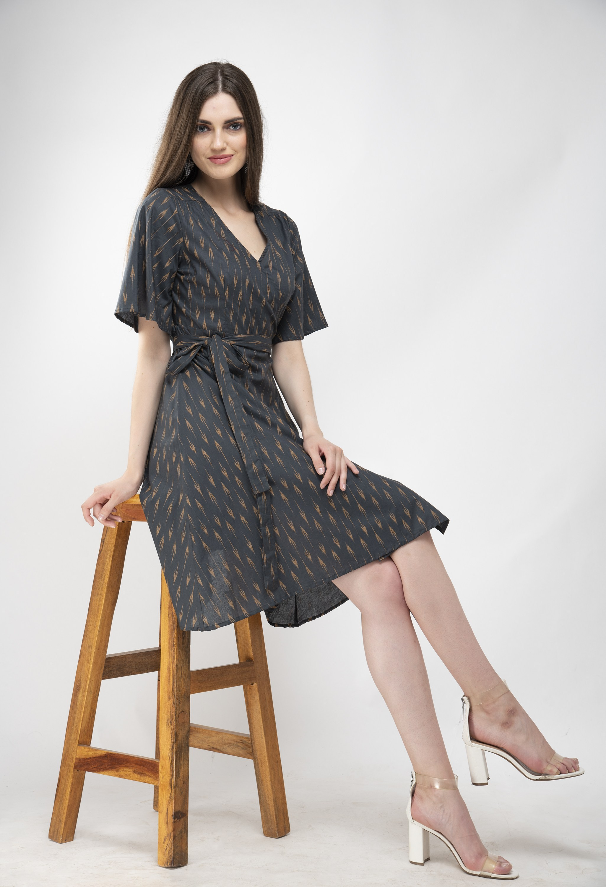 Wrap-on dress from Grab Your Garb