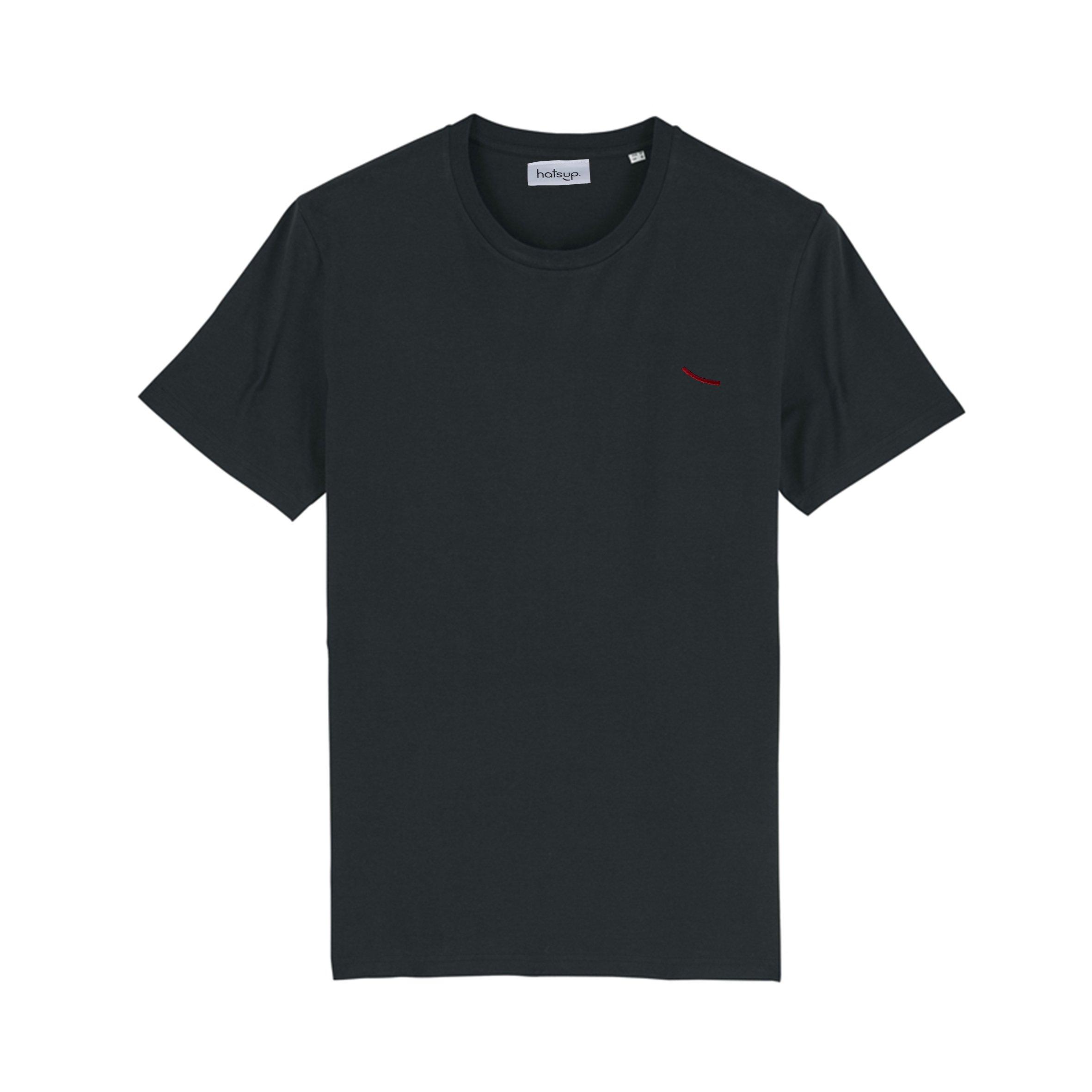 T-shirt Douala black from hatsup