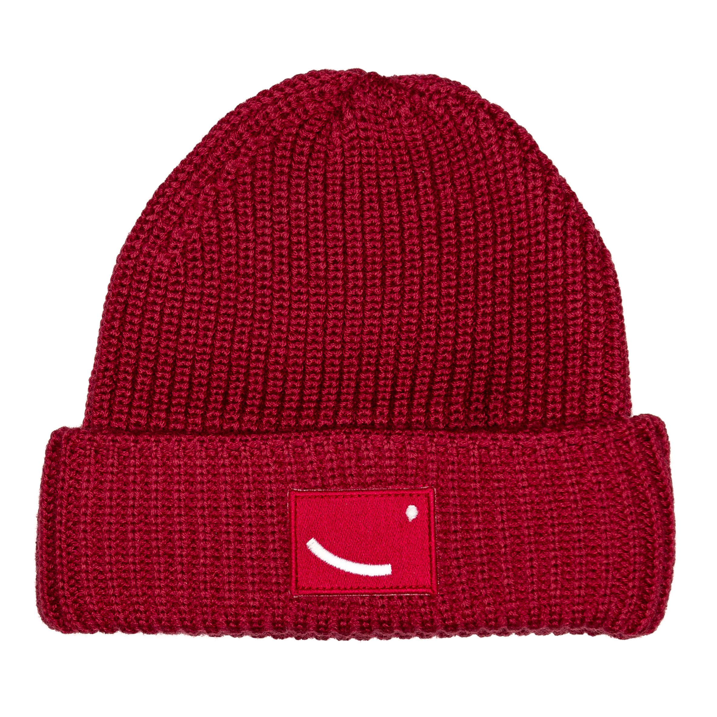 Merino Wool Beanie Luanda - Red from hatsup