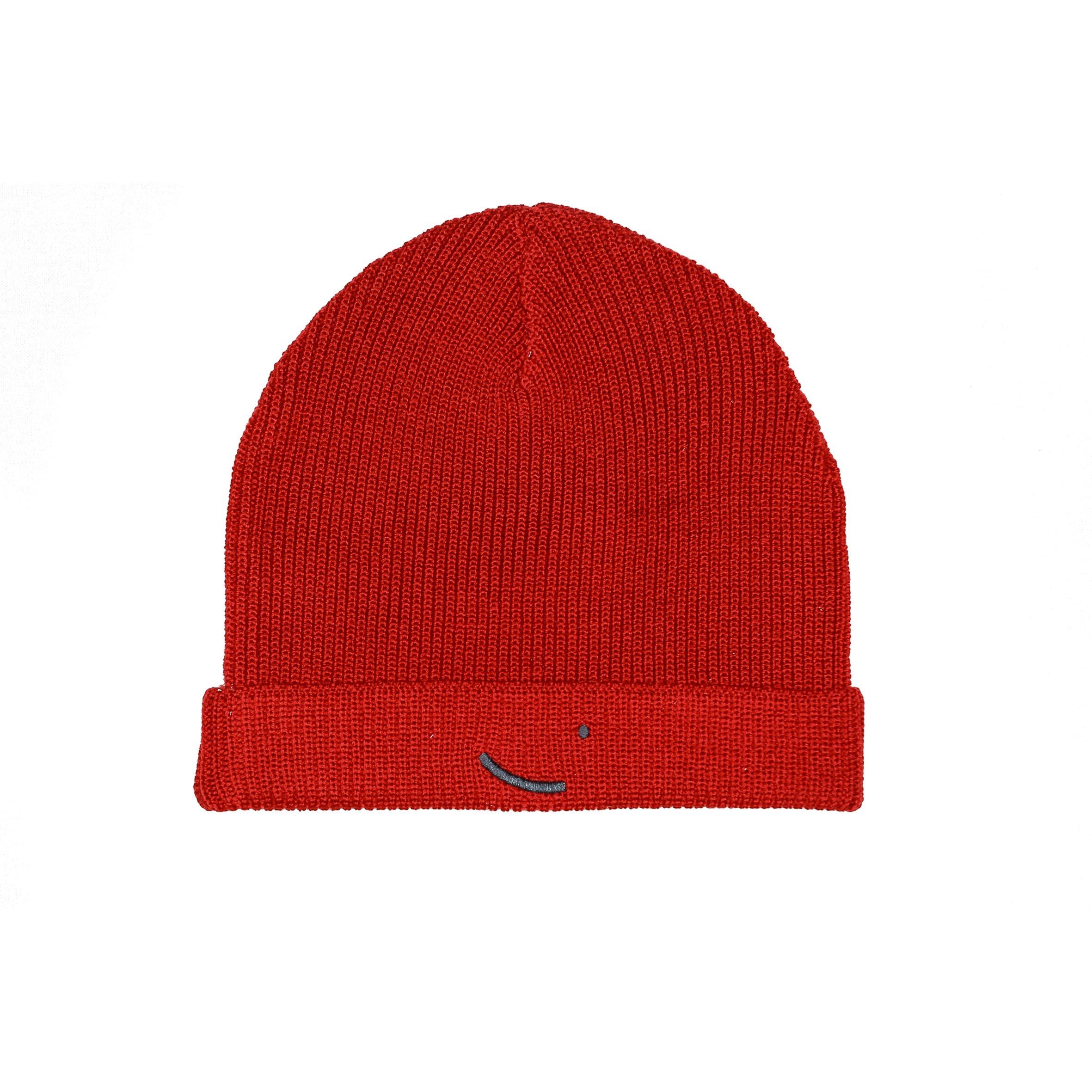 Merino Wool beanie Cairo - Red from hatsup
