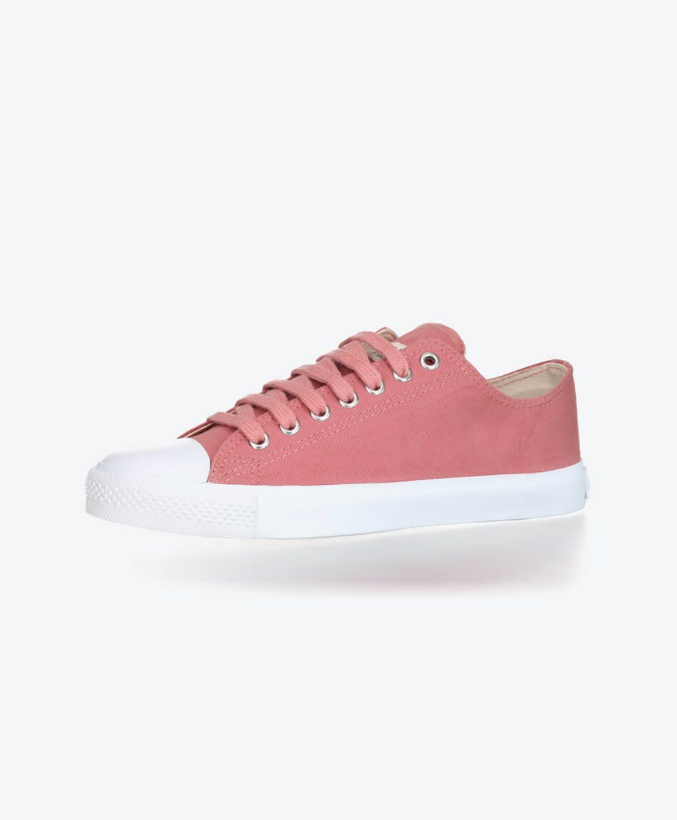Fair Trainer White Cap Lo Cut Collection 18 Rose Dust from Honestfashion Store