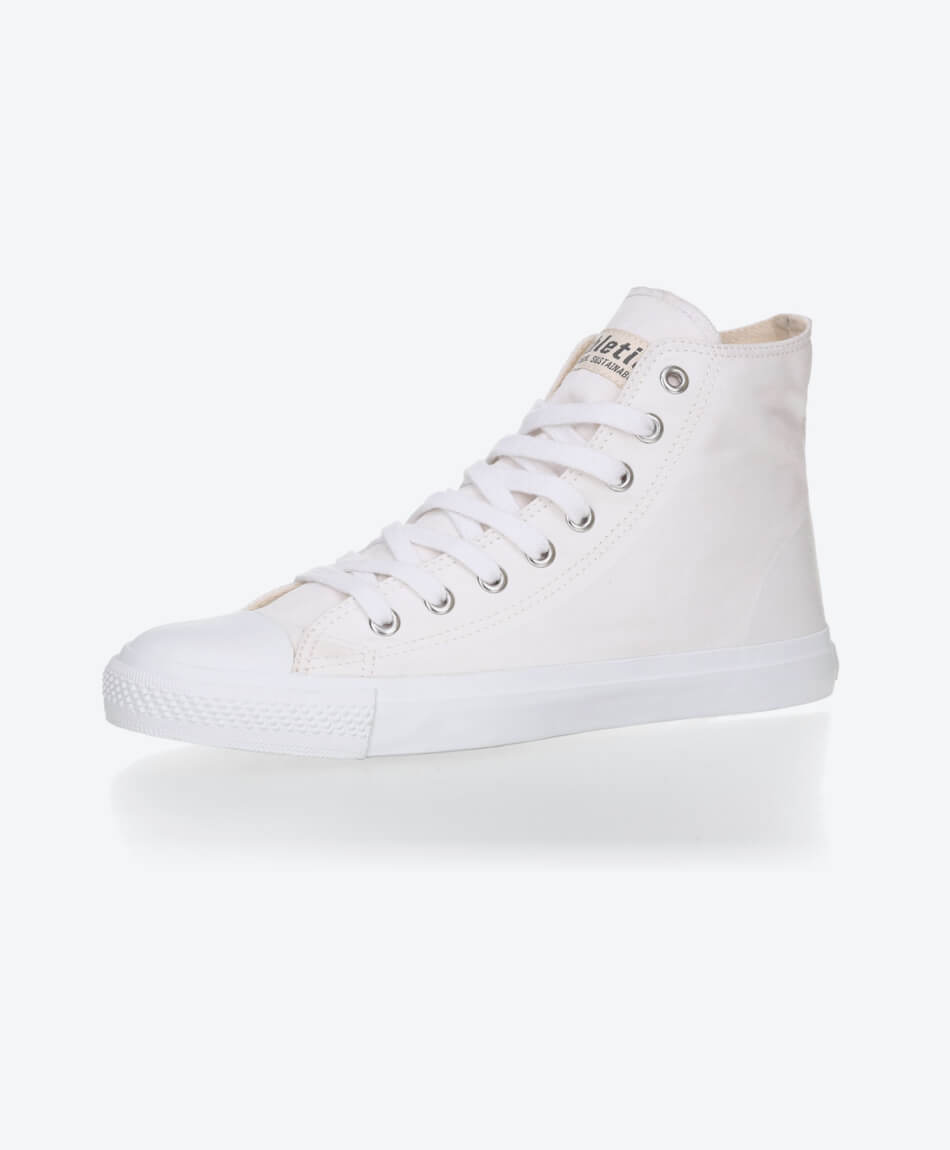 Fair Trainer Hi Cut Collection 18 Just White from Honestfashion Store