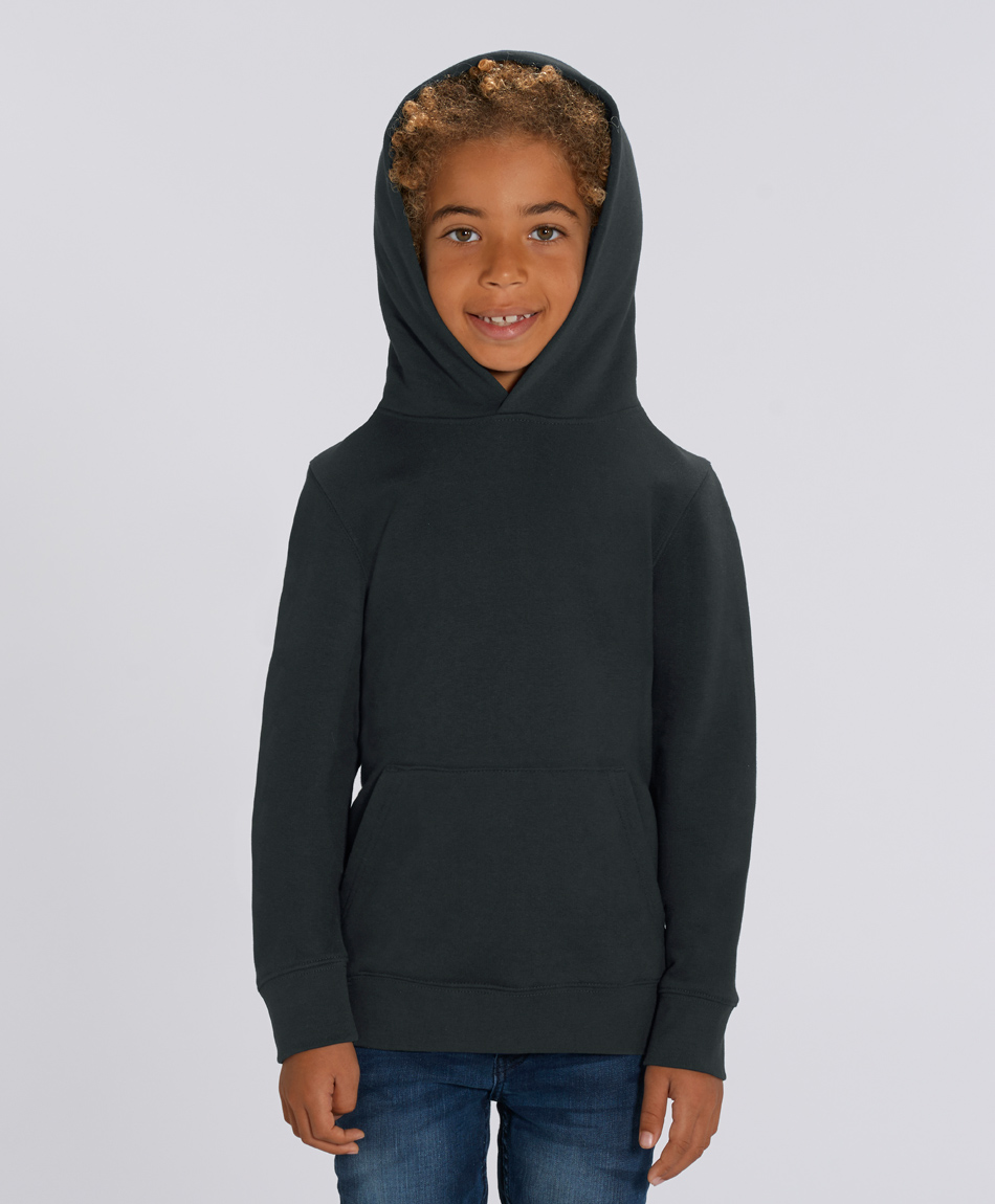 Unisex Kinder Hoodie Lucas Black from Honestfashion Store