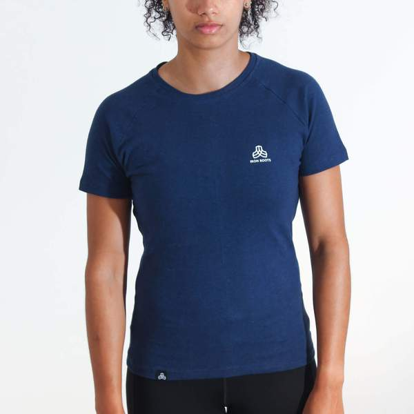 Iron Roots Women's Performance Blend T-Shirt - Royal Blue from Iron Roots