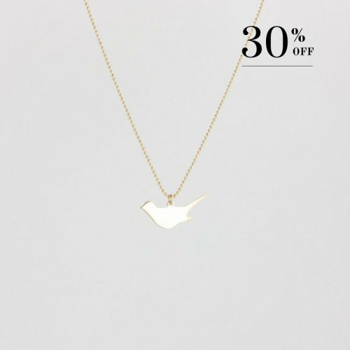 Diving bird necklace gold 30% SALE from Julia Otilia