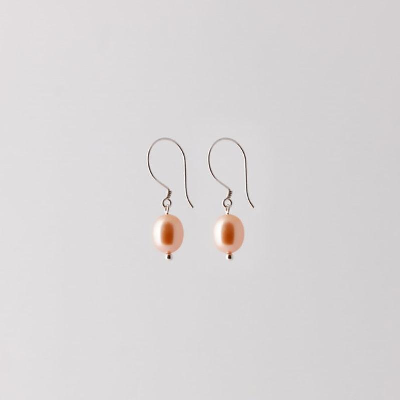Pearl earrings silver from Julia Otilia