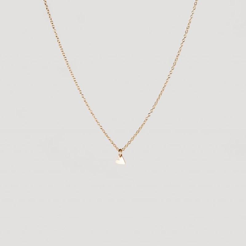 Tiny heart necklace gold from Julia Otilia