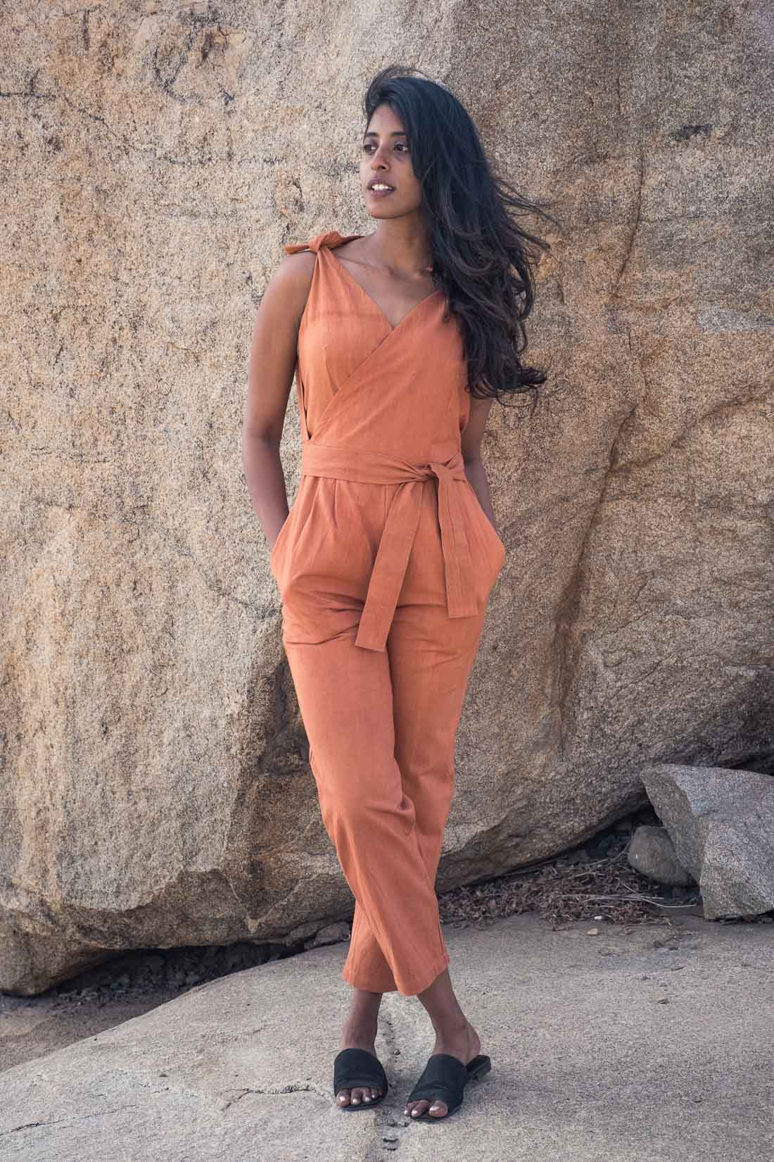 Jumpsuit Jaya  Rost from Jyoti - Fair Works