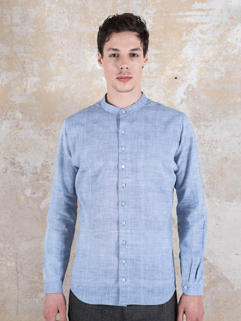 Shirt Harish  Lightblue from Jyoti - Fair Works