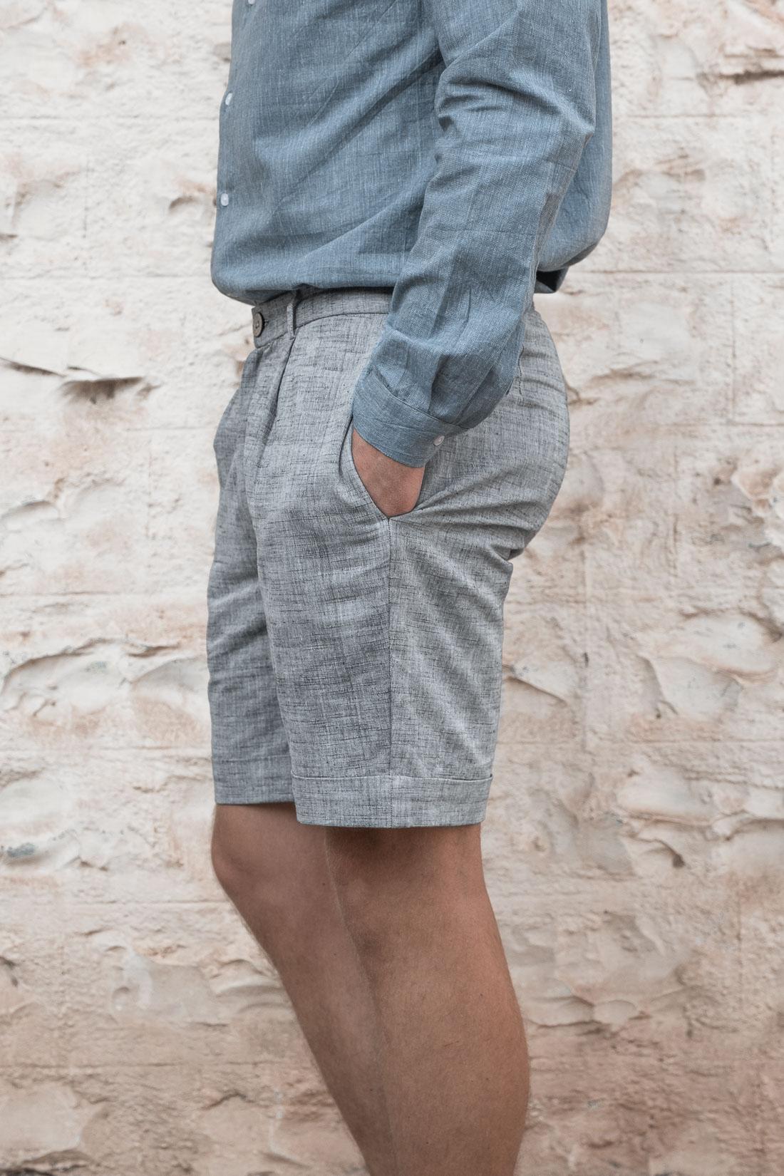 Shorts Heet Grey from Jyoti - Fair Works