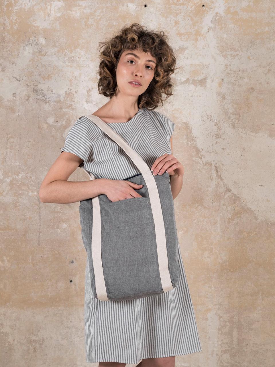 Bag Trichy Grey from Jyoti - Fair Works