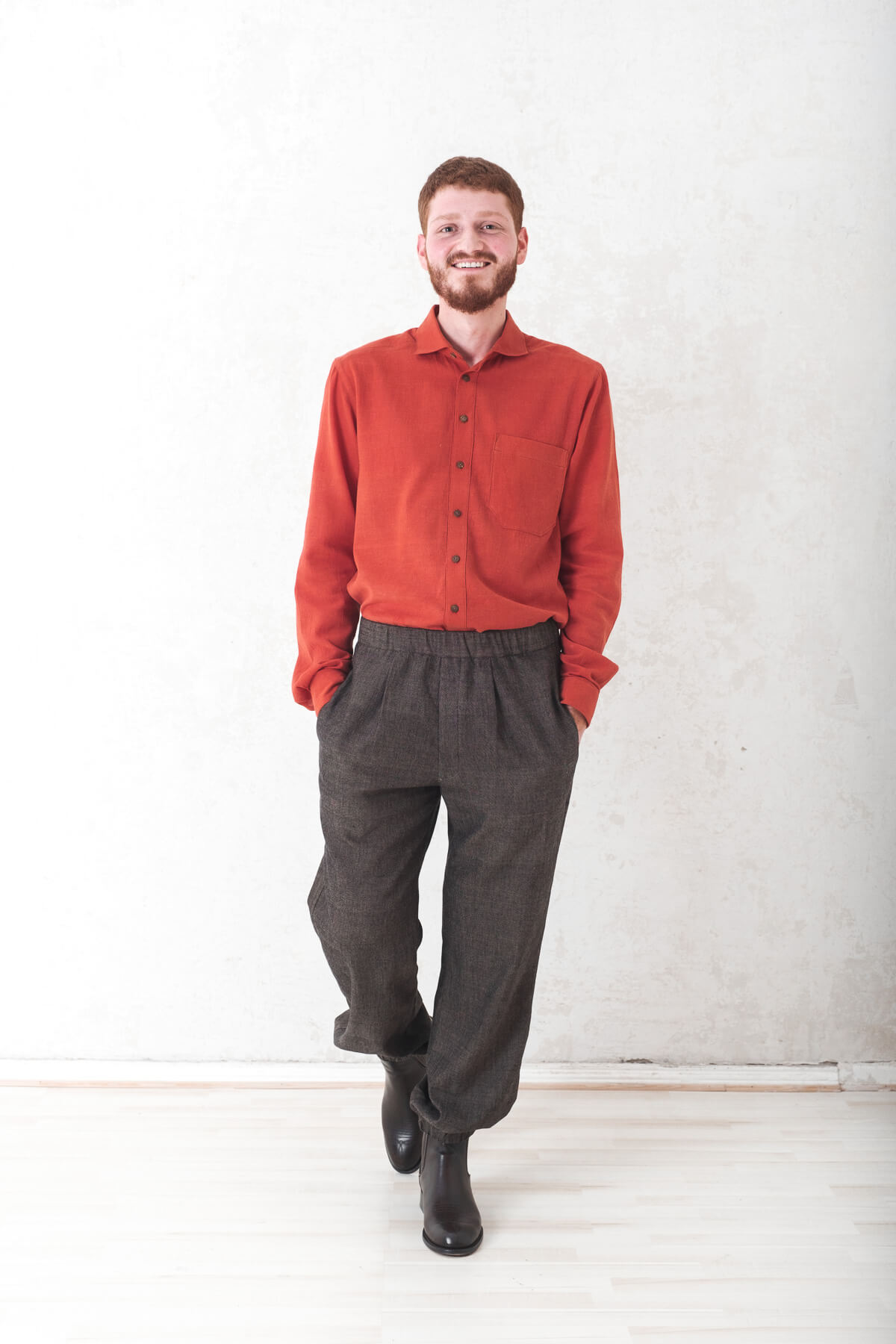 Trousers Bhumi  darkgrey from Jyoti - Fair Works