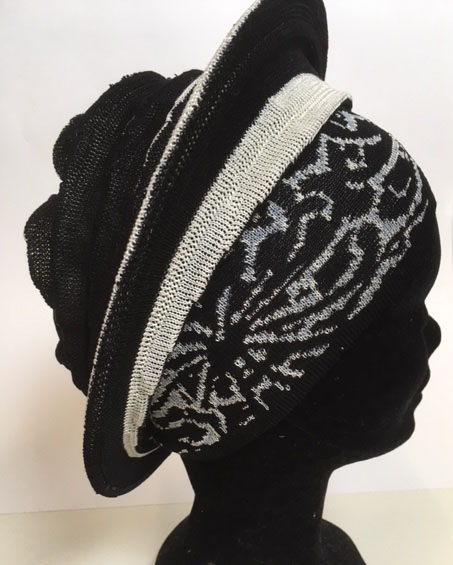 'hat' Nieuwe plooi dessin from Knits For Your Inspiration