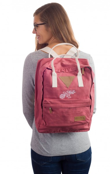 Life-Tree Fairtrade Backpack II Altrosa from Life-Tree