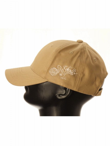 Life-Tree Fairwear Organic Cotton Cap Khaki from Life-Tree