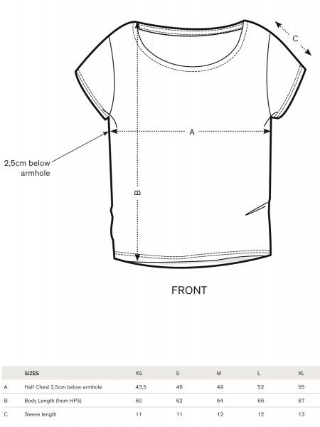 Fairwear Modal Shirt Women Black TheEye from Life-Tree