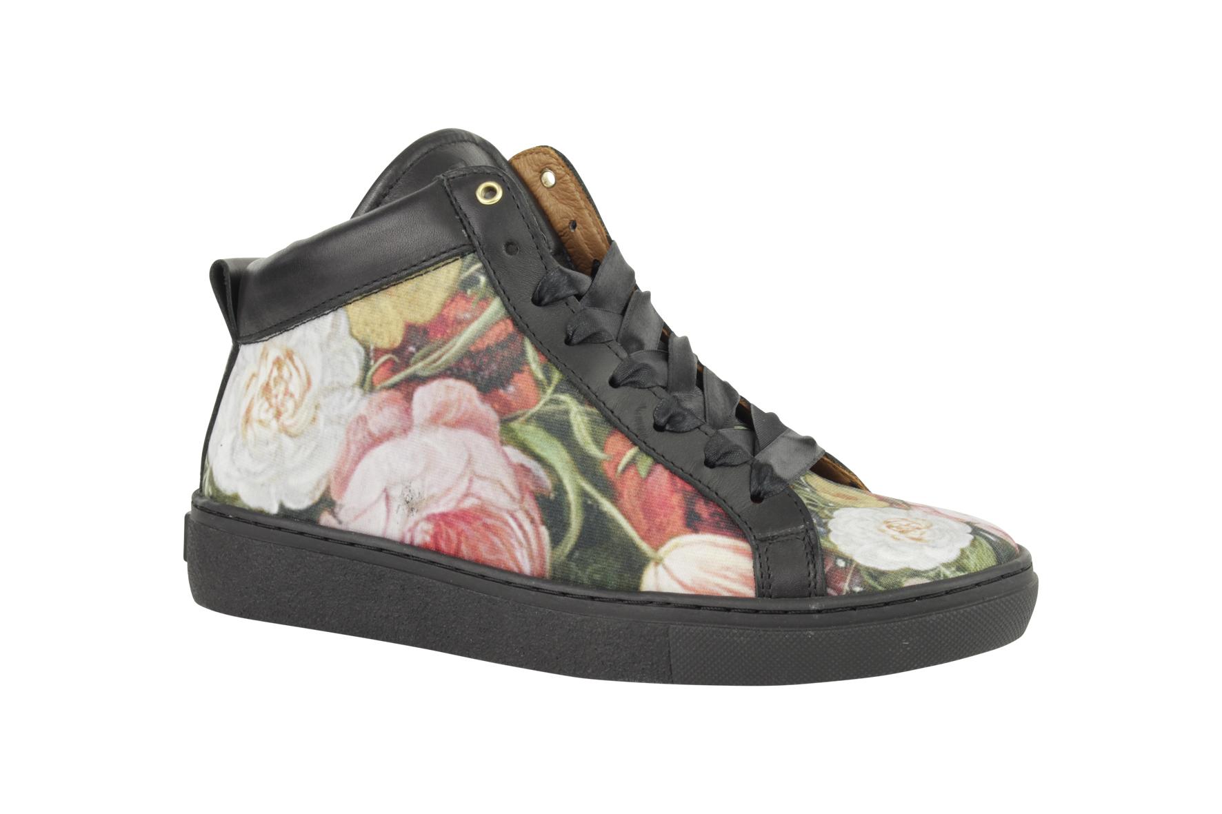 Brave mid sneaker Bloemen Schoock from LINKKENS