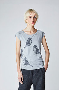 Sale Bio shirt Two birds mouse from Lotika