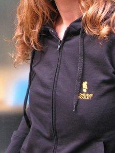 Sale Dames vest zwart from Lotika