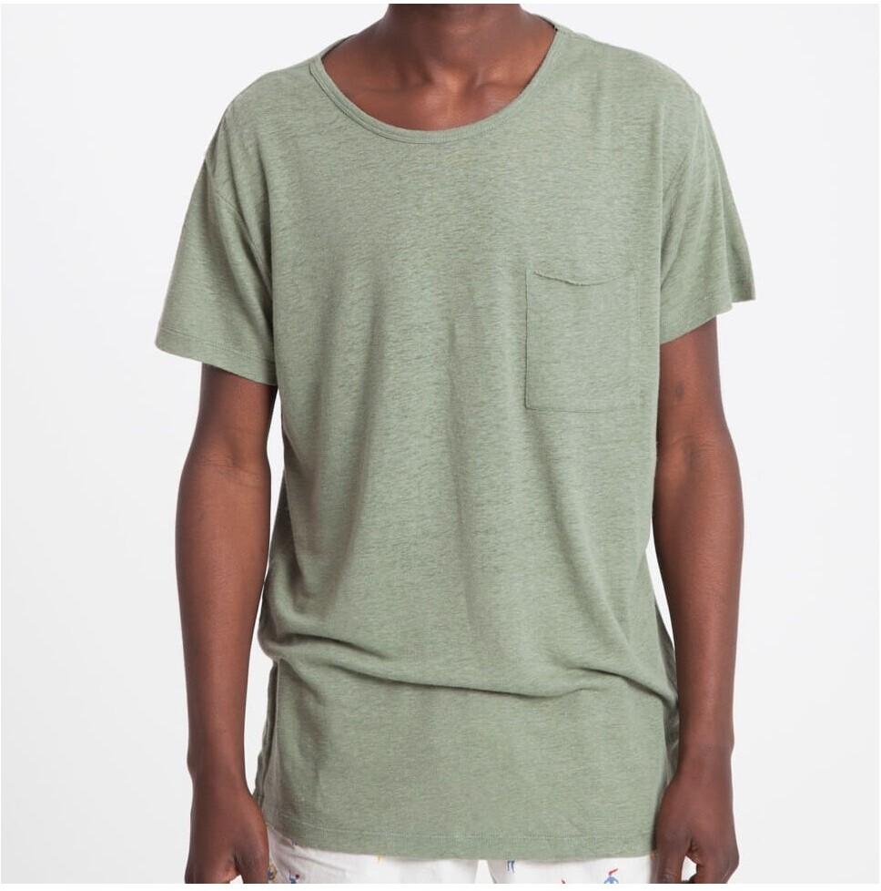 Fair Trade Hemp T-Shirt Groen from Mae Sue