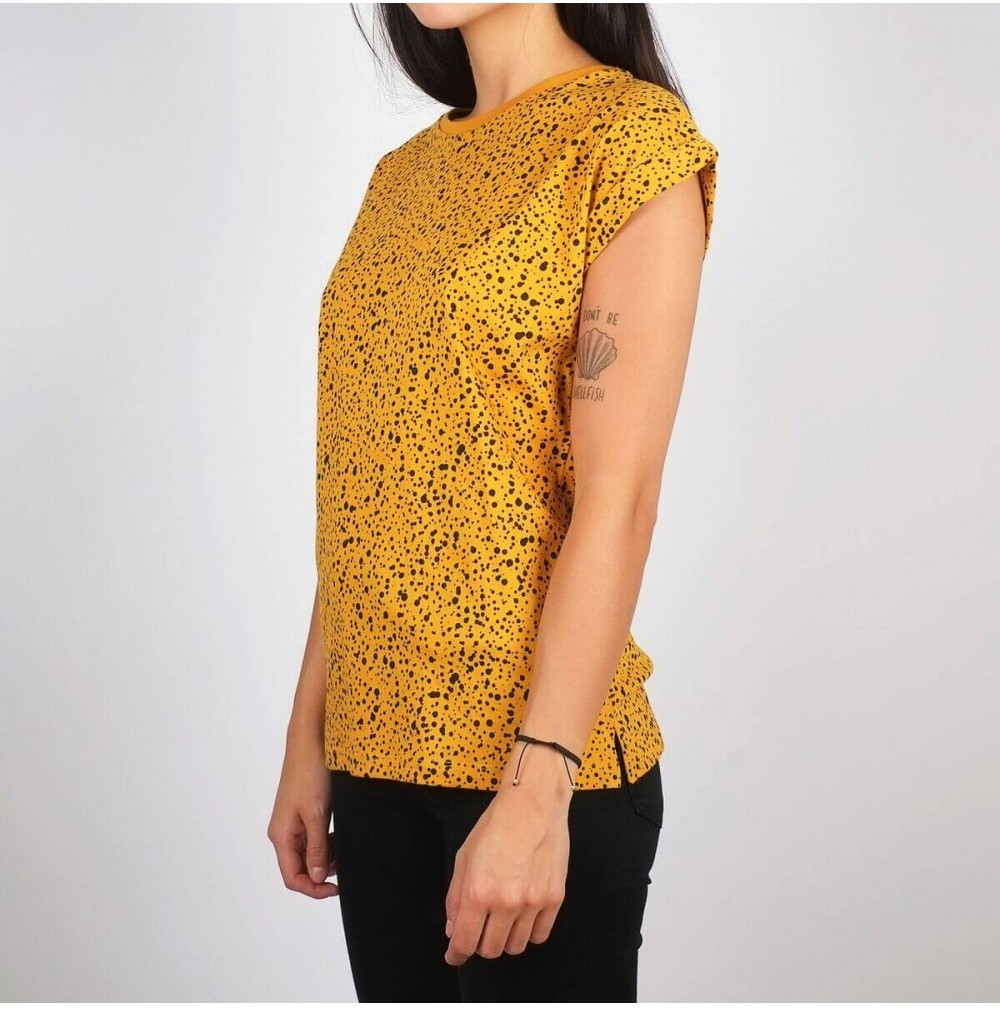 Yellow Dots Fair Trade T-shirt from Mae Sue