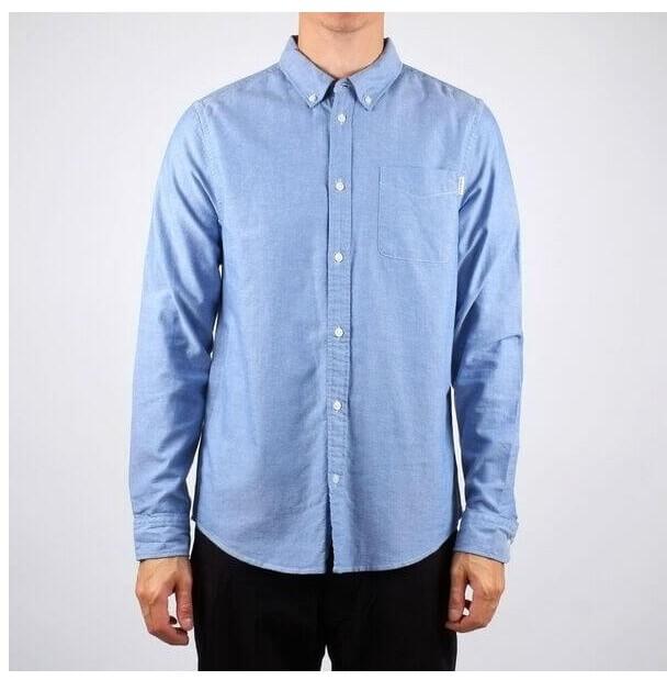 Varberg Duurzaam Overhemd Lichtblauw from Mae Sue