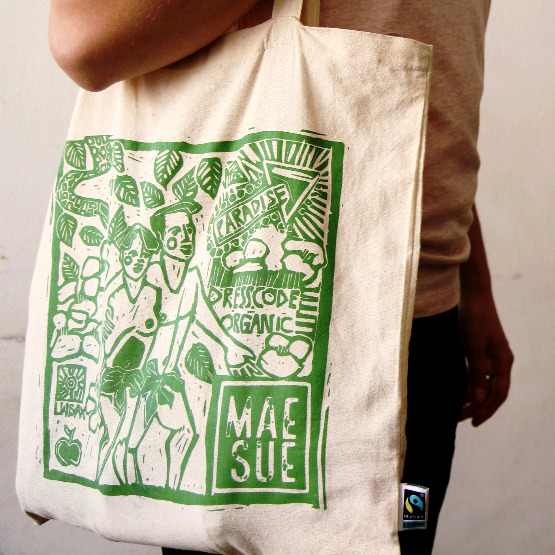 Fair Trade Tote bag from Mae Sue
