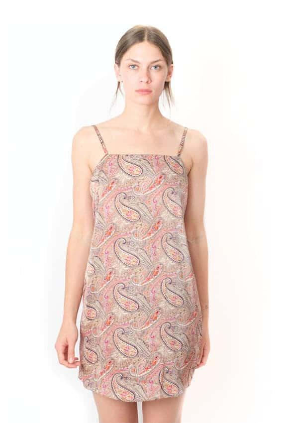 Spaghetti Slip Dress from Malimo