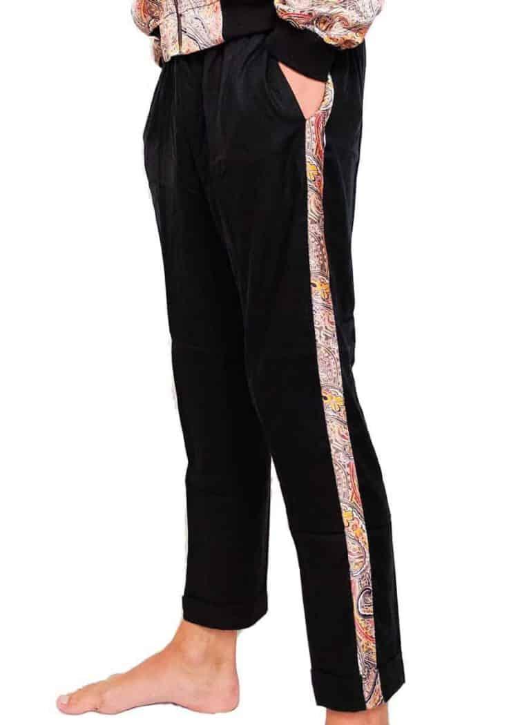 Men Side Stripe Pants from Malimo