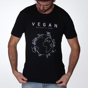Vegan Planet (Care) - Fitted T-Shirt from Noha