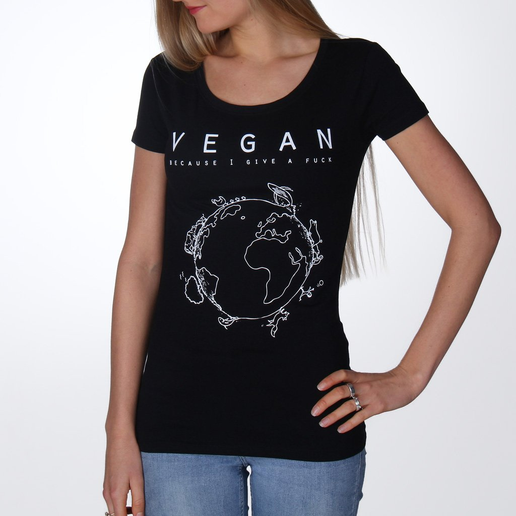 Vegan Planet - Fitted T-Shirt from Noha