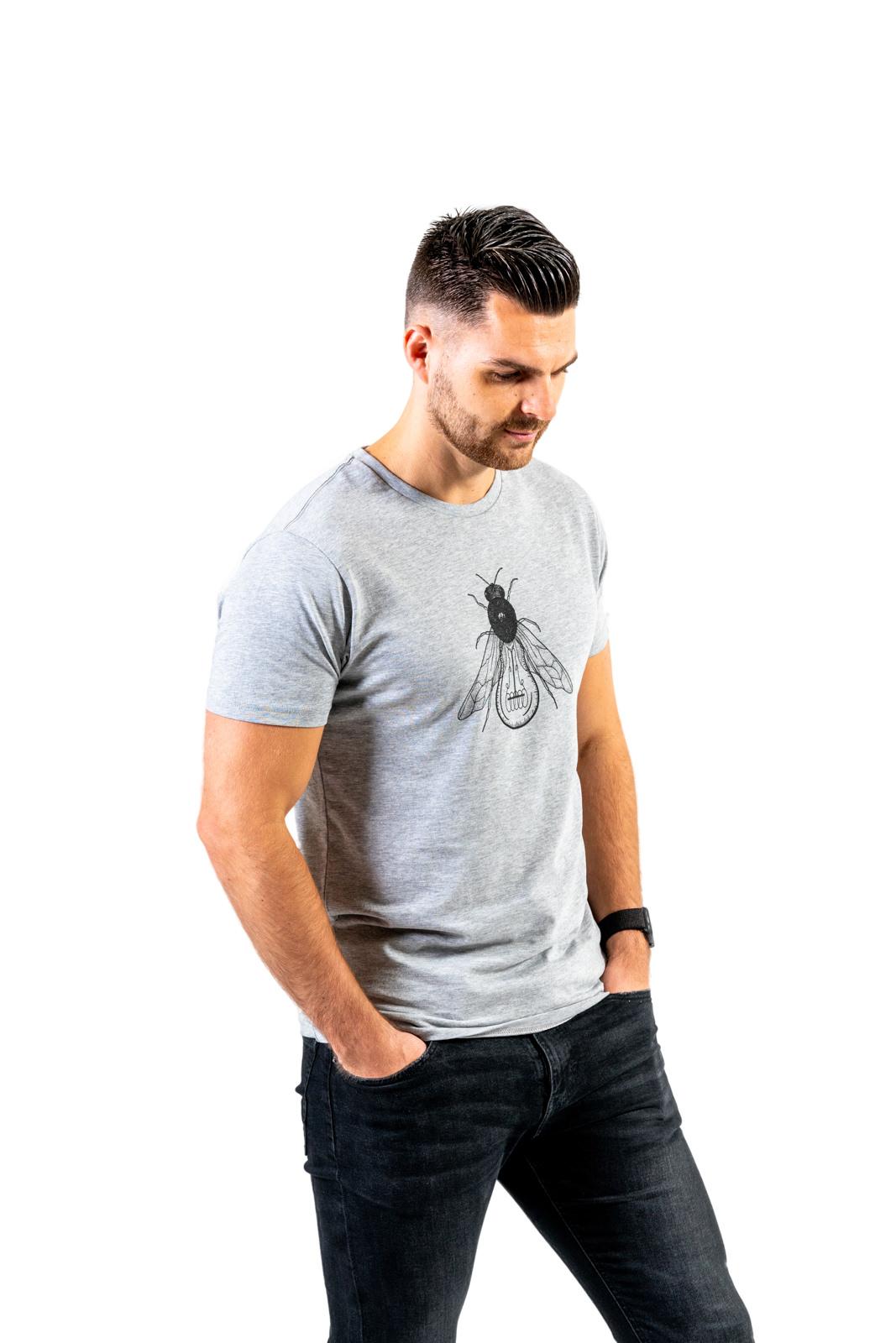 FLY organic heren t-shirt from PapajaRocks