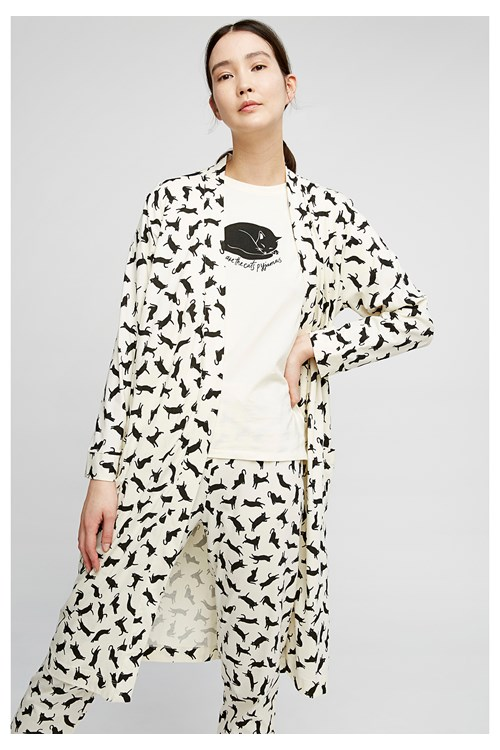 Cat Robe from People Tree