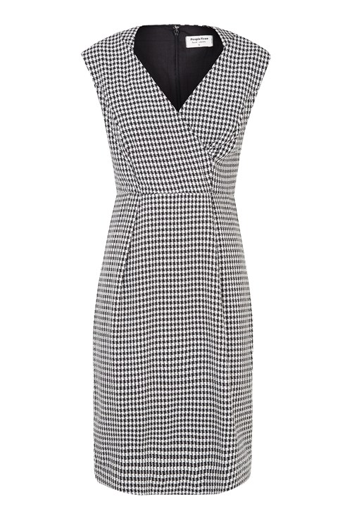 Isabel Houndstooth Dress from People Tree