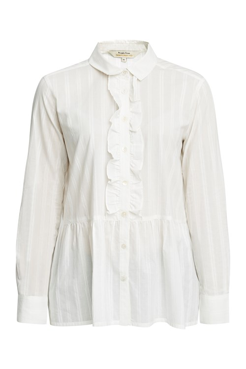 Prudence Frill Shirt from People Tree