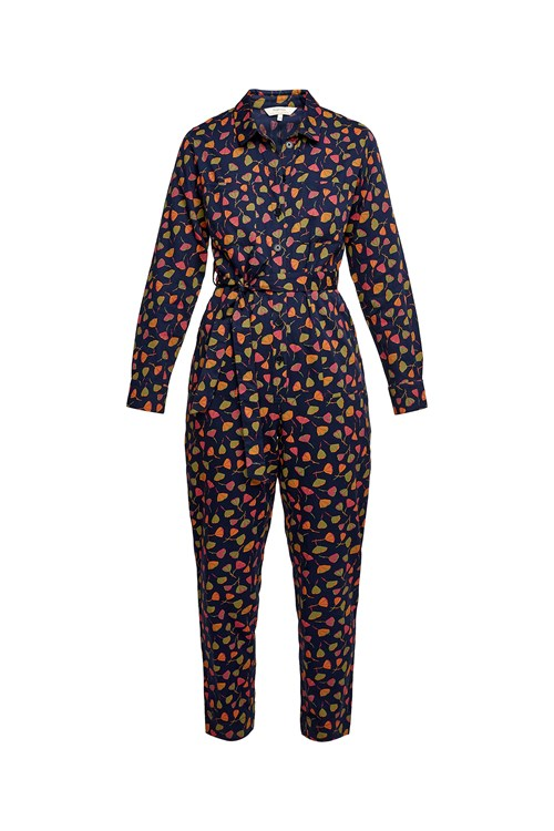 V & A Poppy Print Jumpsuit from People Tree