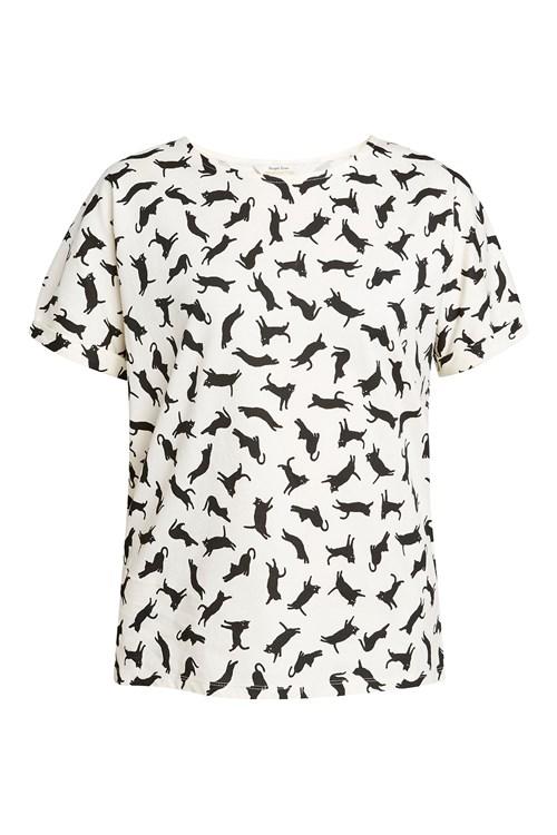 Cat Pyjama Short Sleeve Top from People Tree