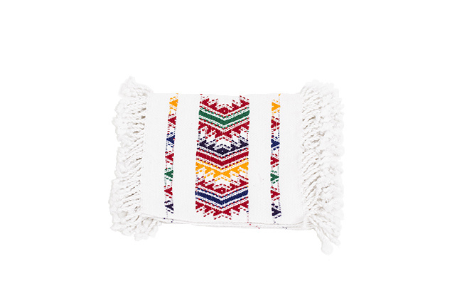 Coasters white from Quetzal Artisan