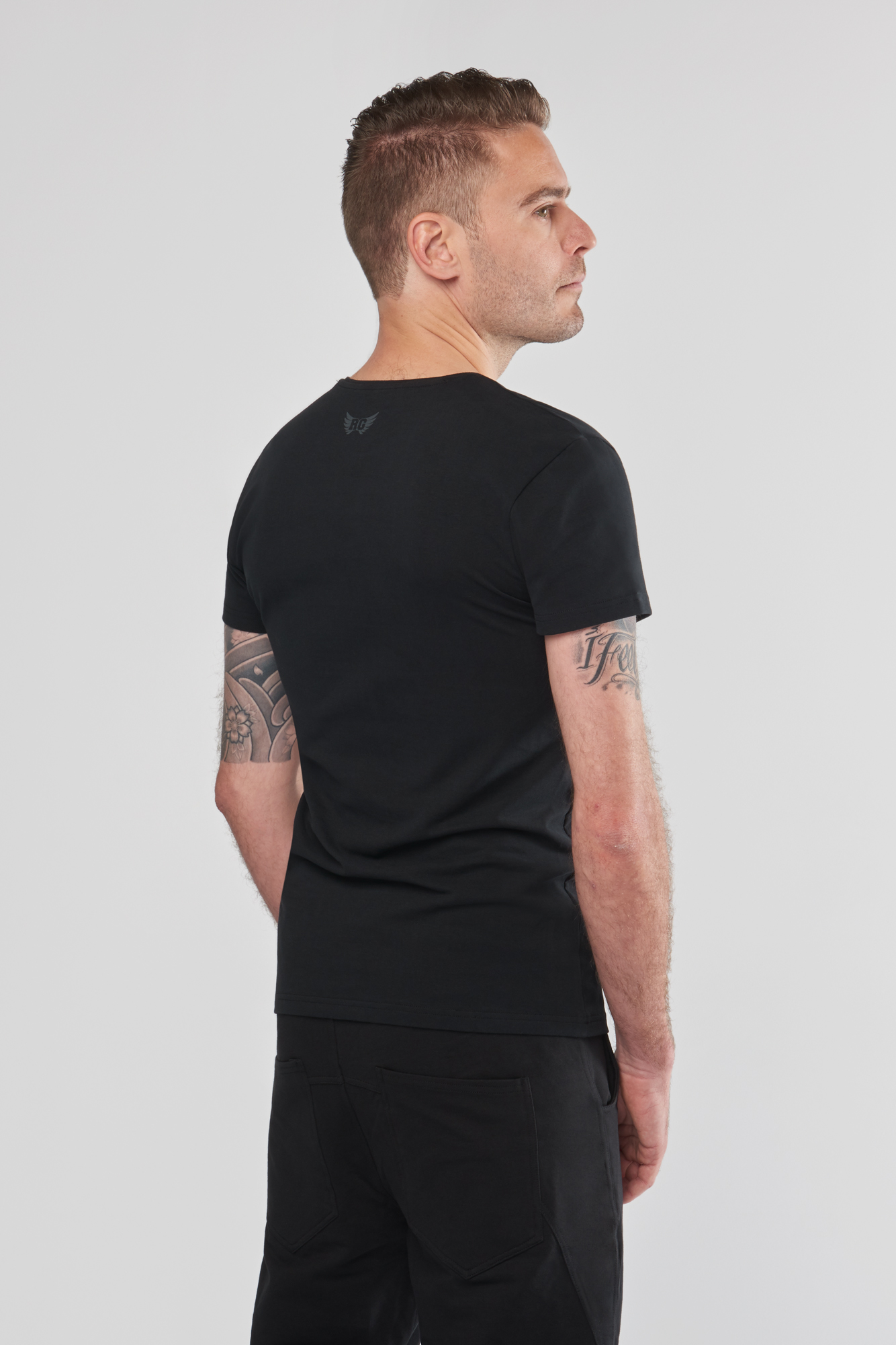 Yoga Tee Moksha Zen – Urban Black from Renegade Guru
