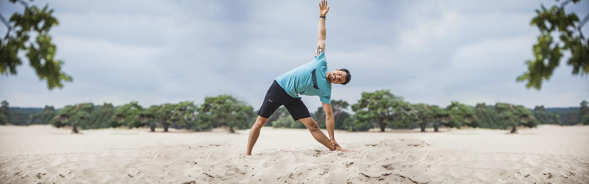 Yoga Tee Moksha Zen – Sea Green from Renegade Guru