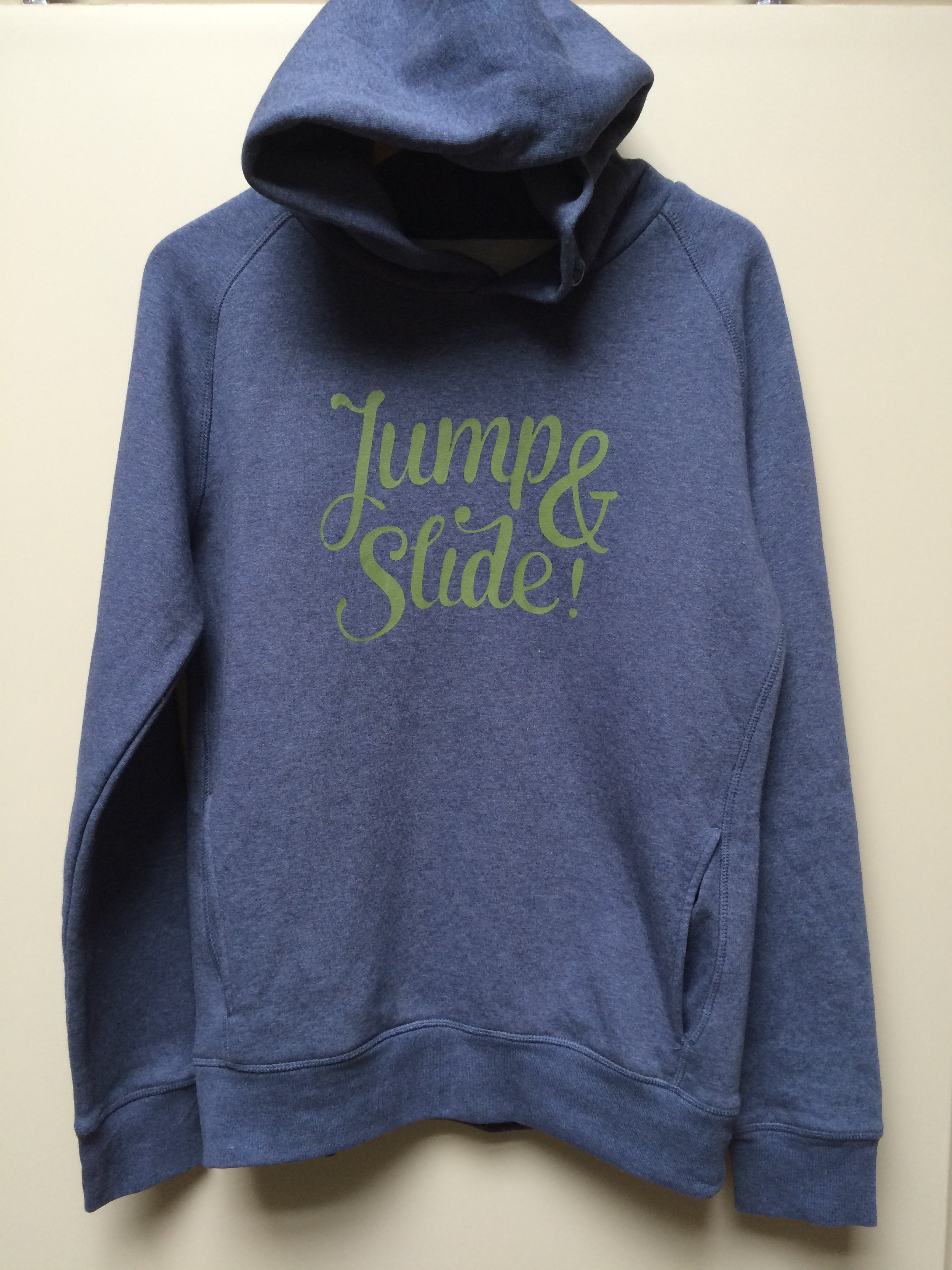Unisex HOODY, Jump & Slide! from RITTRSHAUS