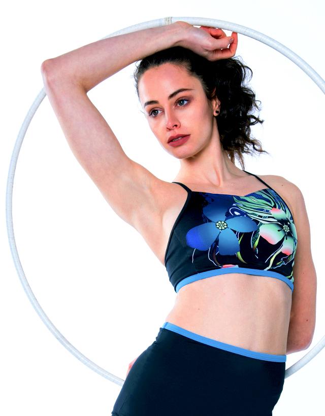Multi Sports Crop Top Vanna – Gym To Swim® from RubyMoon