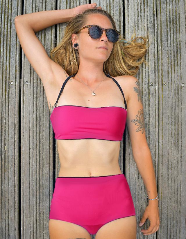 Reversible Bikini Top Susana – Gym To Swim® from RubyMoon