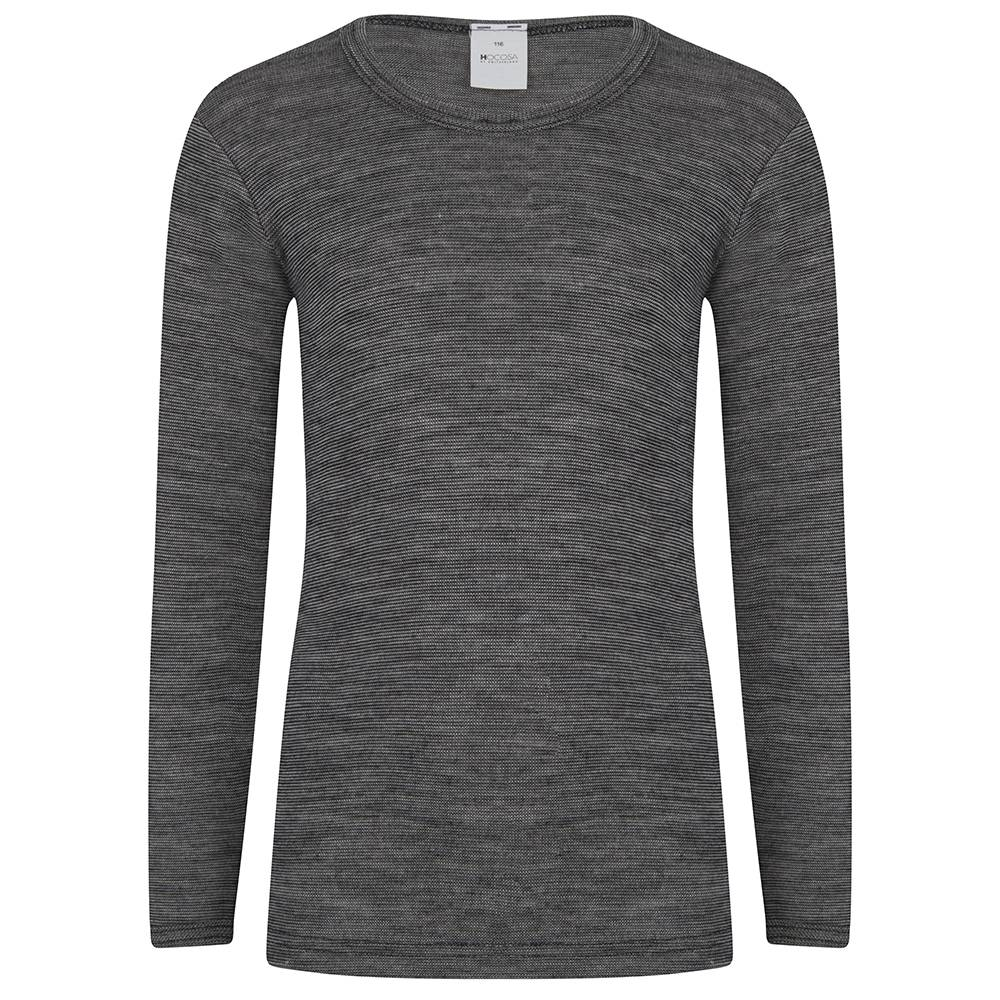 Hocosa Kind- Hemd met lange mouw wol/zijde from Schaapskleren