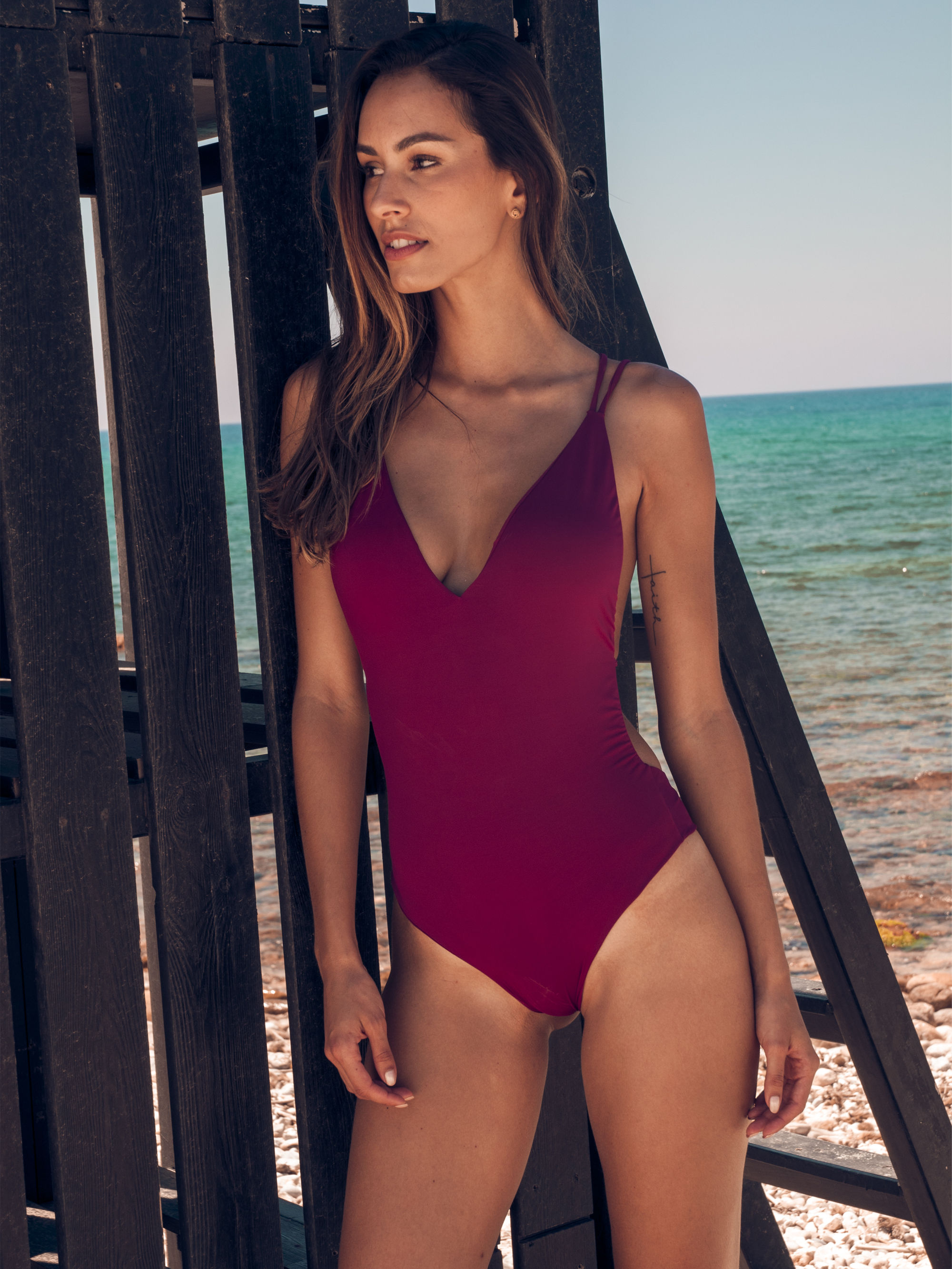 Absinthe One Piece - Burgundy from SixtyNinety