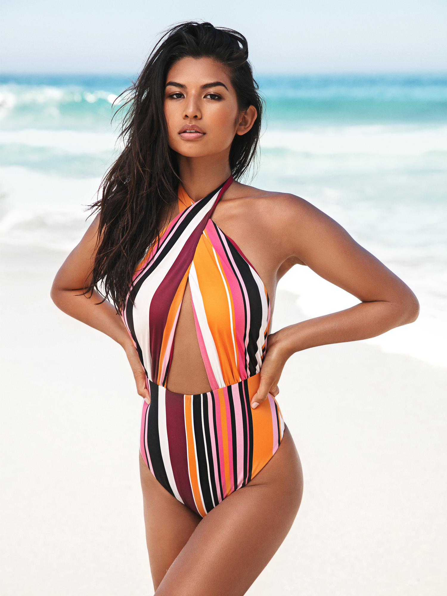 Manhattan Reversible - Pink and Striped from SixtyNinety